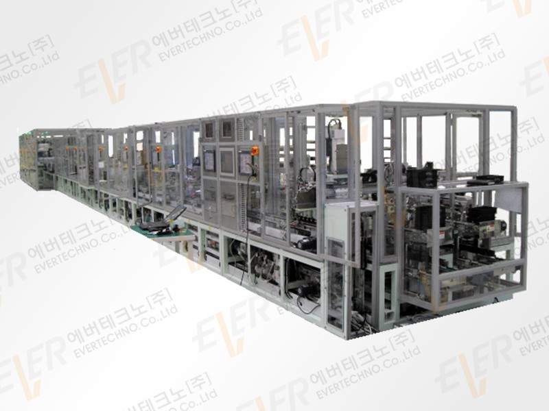 Solenoid Valve automated assembly line