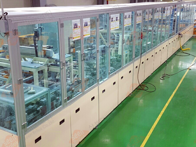 EVAPautomated assembly/inspection equipment