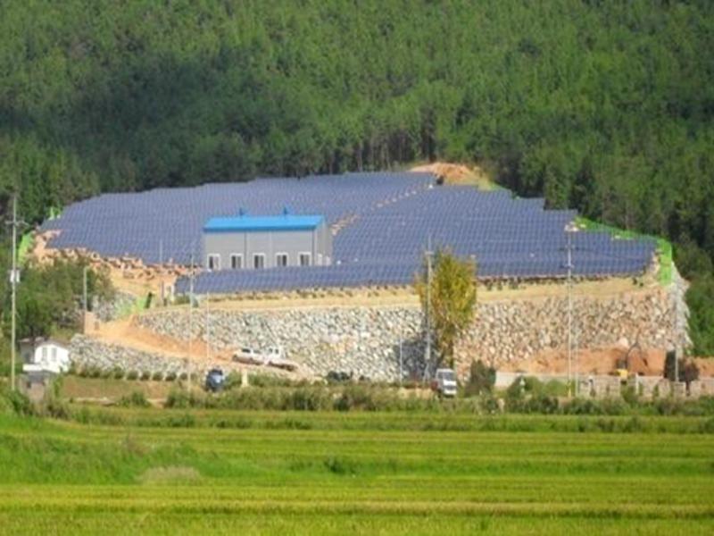Jangheung Solar Power Plant
